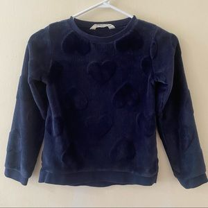 Kids H&M Blue Sweater Size 6-8years